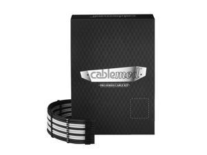 CableMod PRO ModMesh C-Series AXi, HXi & RM Cable Kit - BLACK / WHITE
