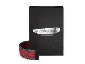 CableMod PRO ModMesh C-Series AXi, HXi & RM Cable Kit - CARBON / RED