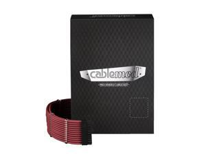 CableMod PRO ModMesh C-Series AXi, HXi & RM Cable Kit - BLOOD RED