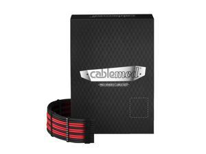 CableMod PRO ModMesh E-Series G3 / G2 / P2 / T2 Cable Kit - BLACK / RED
