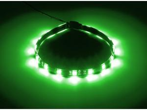 CableMod® WideBeam™ Foam Adhesive LED Strip 30cm - GREEN