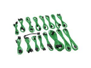 CableMod C-Series ModFlex Full Cable Kit for Corsair  AXi, HXi & RM - Green