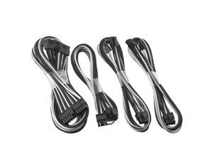 CableMod C-Series ModFlex Basic Cable Kit for Corsair  AXi, HXi & RM - Black / White