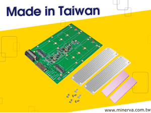 OCulink 8x (SFF-8612 8-Lane) to M.3 NF1 SSD for Tri-Mode MegaRAID 9460-16i