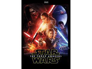 BUENA VISTA HOME VIDEO STAR WARS-FORCE AWAKENS (DVD) REPKG # D155886D                NLA D134013D