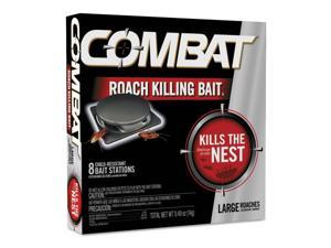 Combat 41913 Source Kill Large Roach Killing System, Child-Resistant Disc, 8-Box