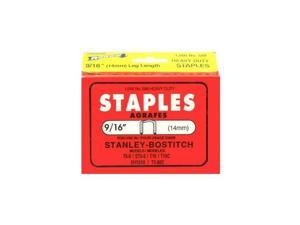 """9/16"""" Stanley Bostitch PowerCrown Staples (Pack of 1,000)"""