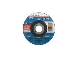 """Bosch, TCW1S450, 4-1/2"""" x .040 x 7/8"""" Type 1 Thin Cutting Disc AS60INOX-BF for Metal / Stainless, Metal Cutoff Blade"""
