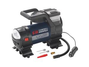 Campbell Hausfeld AF010400 12V Inflator with Safety Light and Accessories