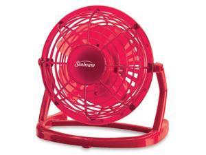 "Sunbeam® Cool Me™ 4"" Plastic USB Fan, Fuschia Pink SNF0411FP-CN"