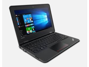 "Lenovo ThinkPad 11e 11.6"" Laptop, Intel Celeron, 4GB RAM, 320GB HDD, Windows 10 Home, 1 Year Warranty"