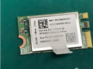 Acer Aspire Spin 3 SP315-51 Qualcomm Atheros Wifi Card NFA435A KE.11A0F.001