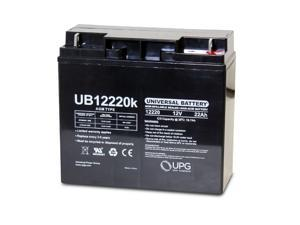 NEW 12V 22AH Battery Replacement for Solar Booster Pac ES1217, ES1230, ESP5500