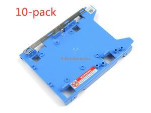 """10X 2.5"""" Ssd Hard Drive Caddy Fit For Dell 960 980 990 T5500 T3610 T5600 R494d"""