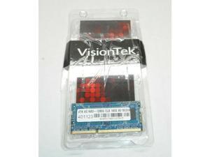 VisionTek 4GB DDR3 VTK 4G NB3-12800 CL 9 1600 SODIMM Laptop RAM
