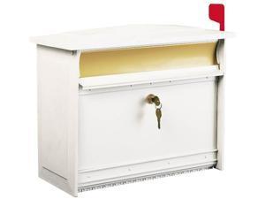 Solar MSKW XL White Camolock Mailbox,No MSK0000W,  Solar Group