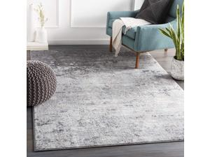 """Artistic Weavers Choukri Area Rug 53"""" x 73"""", Silver Gray"""