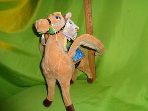 Disney jr Sophia The First Saffron Pegasus Horse Plush Stuffed Animal Pony NEW