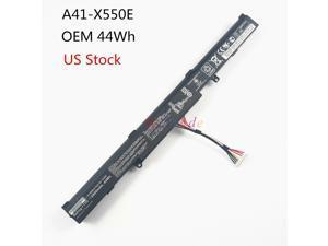 44Wh OEM Battery For Asus X751M X750J X750JA X550Z X550ZA-SA100603E A41-X550E