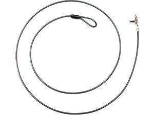 Noble Locks Scissor Lock with Barrel Key - Steel Cable NS04T