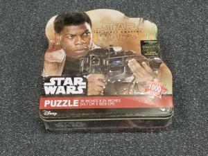 Star Wars The Force Awakens 1000 Piece Puzzle Collector Tin (Finn) NEW