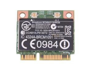 New BroadCom Wifi Bluetooth Card BCM94313HMGB 657325-001 4.0 PCIE Card for HP Laptop