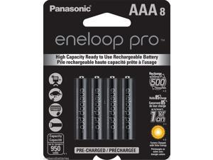 New Genuine Panasonic Eneloop Pro AAA NiMH 950mAh Rechageable Batteries 8 Pack