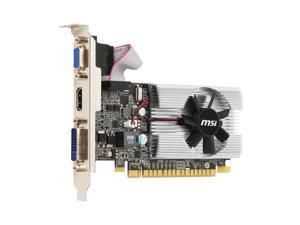 MSI NVIDIA GeForce 210 1GB GDDR3 VGA/DVI/HDMI Low Profile PCI-Express Video Card