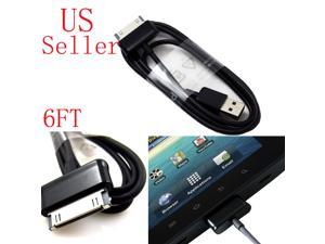 6 FT USB Data Sync Charger Cable For Samsung Galaxy Note 10.1 N8000 N8010 N8013