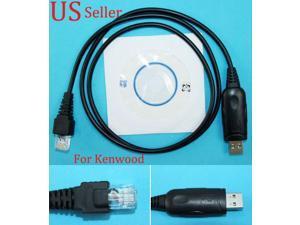 USB Programming Cable For Kenwood Radio NX-700 NX-800 NX-900 NXR-710 KPG-46U