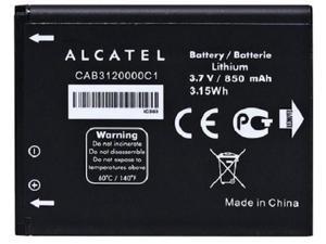 New OEM Alcatel CAB3120000C1 510A OT-800 OT-880a OT-710D 768T Original Battery