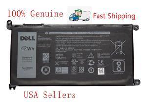 Genuine WDXOR 42Wh Battery For Dell Inspiron 15 5568/13 7368 T2JX4 3CRH3 WDX0R