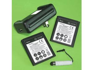 2x 2420mAh Battery Wall Charger Touch Pen f LG Optimus Zone 3 VS425PP  SmartPhone - Newegg com