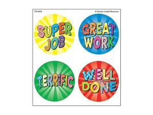 Teacher Created Resources Good Work 2 Wear'Em Badges (4850)