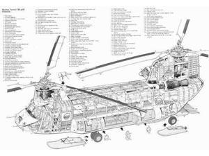 chinook helicopter, Decor, Home Living, Home & Tools