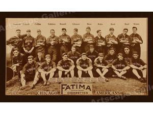 12x20 1913 Cleveland Naps Classic Baseball Team Photo Poster