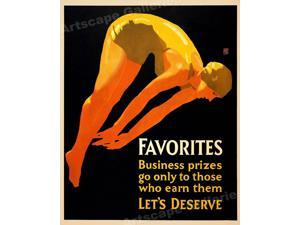 16x20 The Teamworker 1929 Workplace Motivational Poster