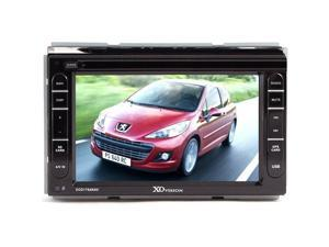 """Xo Vision Xod1764Nav 2-Din 7"""" Touchscreen Receiver With Built-In Navigation"""
