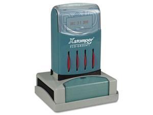 "Xstamper Versadater Pre-inked Stamp - Paid Message/date Stamp - 1.31"" X (66210)"
