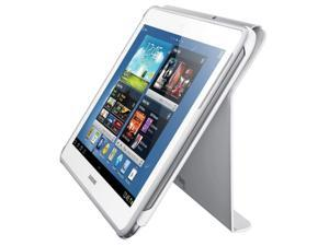 NEW Samsung Galaxy Note 10.1 WHITE Book Cover Travel Case Shell EFC-1G2NWECXAR