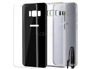 Premium Screen Protector Dull Polish Case f Samsung Galaxy J3 Eclipse 2  SM-J337V - Newegg com