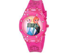 Disney Kids Wristwatch Girls Gift Frozen Anna and Elsa Digital Watch Pink