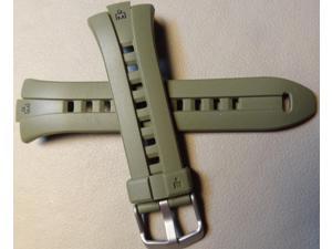 Mens Green 18mm Timex Ironman T5K418 Triathlon 100M Water Resistant Watch Band