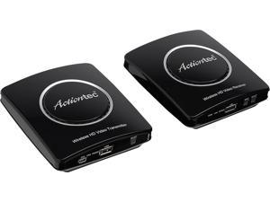 Actiontec - MyWirelessTV2 Wireless Video Transmitter and Receiver - Black