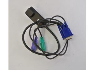 HP 396632-001 286597-001 KVM Interface Console Cable Cat 5 RJ45 to VGA, Lot 5