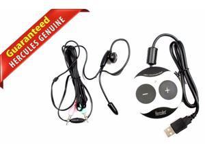 Hercules Gamesurround Muse XL Pocket LT3 External USB Sound Card W/Headset C80D8