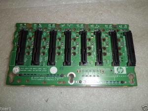 HP 412736-001 Proliant DL380 G5 8x1 SAS/SATA Backplane Board TESTED