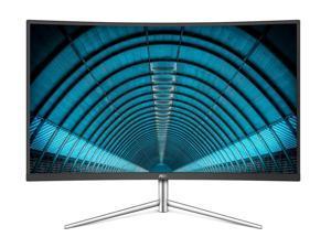 "AOC C32V1Q 31.5"" Full HD 1920x1080 Monitor, Curved VA Panel, 4ms 75hz, Frameless, HDMI/DisplayPort/V"