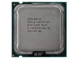 Intel Core 2 Duo E6600 Conroe Dual-Core 2.4 GHz LGA 775 HH80557PH0564M Processor