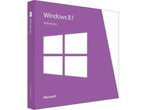 Microsoft Windows 8.1 64-bit - License and Media - OEM